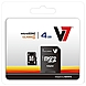 V7 VAMSDH4GCL4R-1N 4 GB Micro SDHC Class 4 Flash Memory Card with SD Adapter
