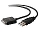 Belkin F8Z635TT04-BLK 4 Feet ChargeSync Cable for Apple iPad, iPhone - 1 x 4-pin USB Type A Male, 1 x Apple Dock Connector Male - Black