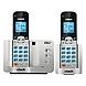 Vtech DS6511-2 DECT 6.0 Cordless Phone - Cordless - 1 x Phone Line - 1 x Handset - Speakerphone - Caller ID - Yes - Backlight