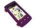 Xentris 60-2354-01-VX LG en V Touch 1100 Cellphone Case - Rubber - Purple
