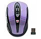 GearHead MPT3500PUR Optical 2.4 GHz Wireless Mouse with Nano Receiver - 800 dpi - Tilt-Wheel Scrolling - Purple