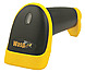 Wasp WWS550I Freedom Cordless Barcode Scanner - 635 nm - 230 Scan Per Second - Wireless - Yellow, Black
