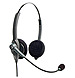 VXi Corporation Passport 21 202780 21P DC Binaural Single-Wire Headset - On-Ear - Wired