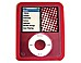 Incase Designs CL56148 Protective Case for iPod Nano 3G - Red
