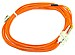 V7 V7-625LCSC-05M 16.4 Feet Duplex Fiber Optic Cable - 2 x LC Male, 2 x SC Male - 62.5/125 micron - Orange