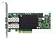 Emulex LightPulse LPE16202-X Dual-Port Converged Fabric Adapter - Gen 5 Fibre Channel - 16 GB Fibre Channel - 8 GB Fibre Channel