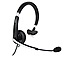 GN Netcom UC Voice 5593-829-209 550 Mono Headset - Over-The-Head - Black