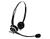 GN Netcom 2127-80-54 GN2125 Over-the-head Monaural Headset - Telecoil for Special Hearing - Proprietary