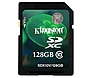 Kingston 128 GB Secure Digital Extended Capacity (SDXC) - Class 10 - 1 Card