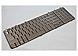 HP 500843-001 Full Size 17-inch Compatible Keyboard - 101 Keys - Bronze