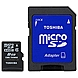 Toshiba 8 GB microSD High Capacity (microSDHC) - Class 4 - 1 Card