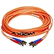 Axiom SC/ST Multimode Duplex 62.5/125 Cable - Fiber Optic for Network Device - Patch Cable - 19.69 ft - 2 x SC Male Network - 2 x ST Male Network