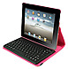 2Cool 2C-RTCK03-PNK Detachable Bluetooth Keyboard Case for iPad 2, iPad 3, iPad 4 - Pink