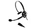 Jabra BIZ 1900 Headset - Mono - Quick Disconnect - Wired - Over-the-head - Monaural - Supra-aural - Noise Cancelling Microphone