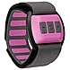 Scosche RHYTHM (Pink) Bluetooth Armband Heart Rate Monitor for Women - Pink