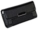 Wireless Solutions 888063965968 Universal Leather Case for Most Medium Size Cell Phones - Black