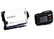 Sony HDR-AS200VR/W 8.8 Megapixels Action Cam with Live View Remote Bundle - White