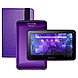 Visual Land Prestige ME7G8TC-PRP Tablet PC Bundle - ARM Cortex A8 1.0 GHz Single-Core Processor - 512 MB RAM - 8 GB Storage - 7.0-inch MultiTouch Display - Android 4.1 (Jelly Bean) - Pro Folio Case - Purple
