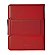 Trexta 813365012812 Rotating Folio for  iPad & The new iPad - Premium Leather - Red