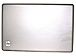 Hewlett Packard 595191-001 LCD Panel Back Cover - Silver Gray