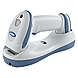Zebra DS6878-HC - Cordless 2D Imager for Healthcare Applications - Wireless Connectivity1D, 2D - Imager - Omni-directional - Bluetooth - White