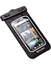 Aduro Products USPHPL-C01-WB Sport Waterproof Smartphone Bag with Audio-Out Jack - Black, Silver