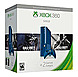 Microsoft Xbox 360 3M6-00052 Special Edition Gaming Console Bundle - 500 GB Hard Drive - Wireless Controller - Blue