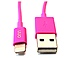 Onn ONB14TA209 3 Feet USB Sync and Charge Lightning Cable - Pink