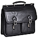 McKleinUSA Hazel Crest S Series 15605 Double Compartment Laptop Case - Top-loading - Shoulder Strap , Hand Strap - 17