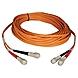 Tripp Lite Duplex Multimode 50/125 Fiber Patch Cable - (SC/SC), 9M (30-ft.)