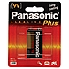 Panasonic Alkaline Plus General Purpose Battery - Alkaline - 9V DC