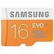 Samsung EVO 16 GB microSDHC - Class 10/UHS-I - 1 Card