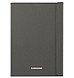 Samsung EF-BT550BSEGUJ Canvas Book Cover for 9.7-inch Galaxy Tab A - Dark Titanium