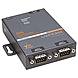 Lantronix 2-Port Secure Serial (RS232/ RS422/ RS485) to Ethernet Gateway; Embedded Linux OS Support; SDK; International 110-240 VAC - Secure Ethernet terminal server for a mutiport RS-232/422/485 serial interface; Secure Ethernet for serial interface; con