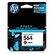 HP 564 Magenta Original Ink Cartridge - Magenta - Inkjet - 300 Page - 1 Each