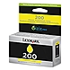 Lexmark Return Program Ink Cartridge - Yellow - Inkjet - 500 Page - 1 Each