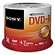 Sony DVD Recordable Media - DVD-R - 16x - 4.70 GB - 50 Pack Spindle - 120mm
