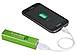 Leeds Jolt 7120-15GR Mobile Phone Charger - 2200 mAh - Green