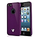 V7 SAND FINISH DURABLE PC COVER-PUR - iPhone - Purple - Sand - Rubber
