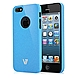 V7 SAND FINISH DURABLE PC COVER-BLU - iPhone - Blue - Sand - Rubber