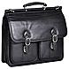 McKleinUSA Hazel Crest S Series 15605 Double Compartment Laptop Case - Top-loading - Shoulder Strap , Hand Strap - 17