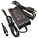 DENAQ 19.5V 3.34A 7.4mm-5.0mm AC Adapter for DELL Inspiron, Latitude, Precision, Studio, Vostro & XPS Series Laptops - 65 W Output Power - 3.34 A Output Current
