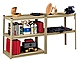 Tennsco LSS-361872 5-Shelf Industrial Grade Stur-D-Stor Shelving Unit - Sand