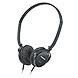 Panasonic SLIMZ RP-HC101 Headphone - Stereo - Black - Mini-phone - Wired - 34 Ohm - 18 Hz 24 kHz - Gold Plated - Over-the-head - Binaural - Ear-cup - 4.60