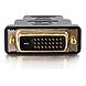C2G DVI-D Male to HDMI Male Adapter - 1 x HDMI Male Digital Audio/Video - 1 x DVI-D (Dual-Link) Male Digital Video - Black