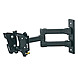 AVF Nexus Eco-Mount EL104B Multi Position Dual Arm TV Mount - 33 lb - Black
