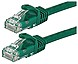 Monoprice Inc FLEXboot Series 11256 14 Feet Cat6 UTP Ethernet Network Patch Cable - Green