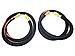 ConiTech MCD-H8-PR Petroleum Transfer Hoses - 2 Pack - 8 Feet - 250 WP - 1-inch - Black