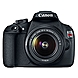 Canon EOS Rebel T5 18 Megapixel Digital SLR Camera with Lens - Black - 3