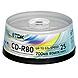 TDK CD-RW Media - 700MB - 120mm Standard - 25 Pack Spindle